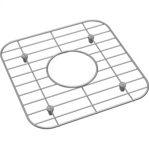 "Dayton Stainless Steel 11-1/16"" x 11-1/16"" x 1"" Bottom Grid Product Image"