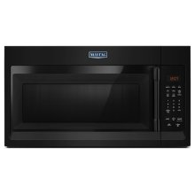 Compact Over-The-Range Microwave - 1.7 Cu. Ft. Black