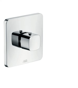 Chrome Thermostat HighFlow for concealed installation Product Image