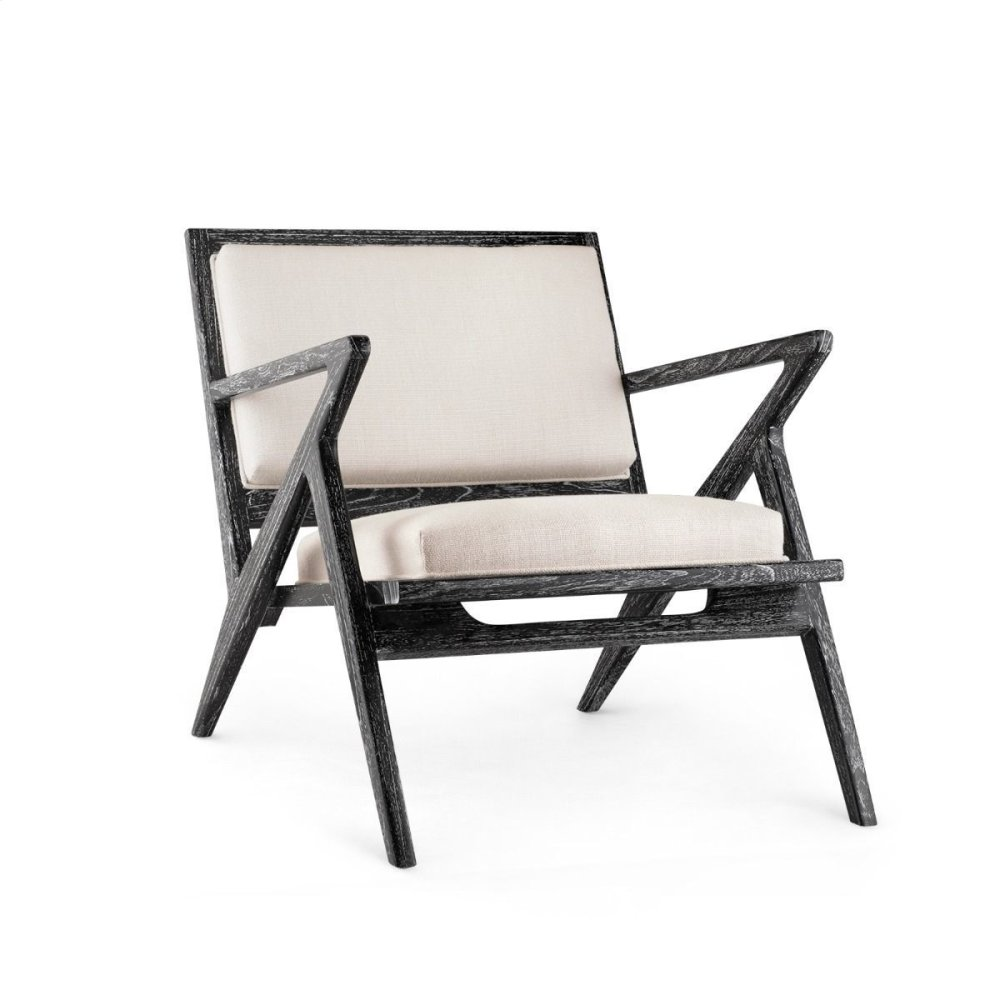 Ethan Lounge Chair, Black