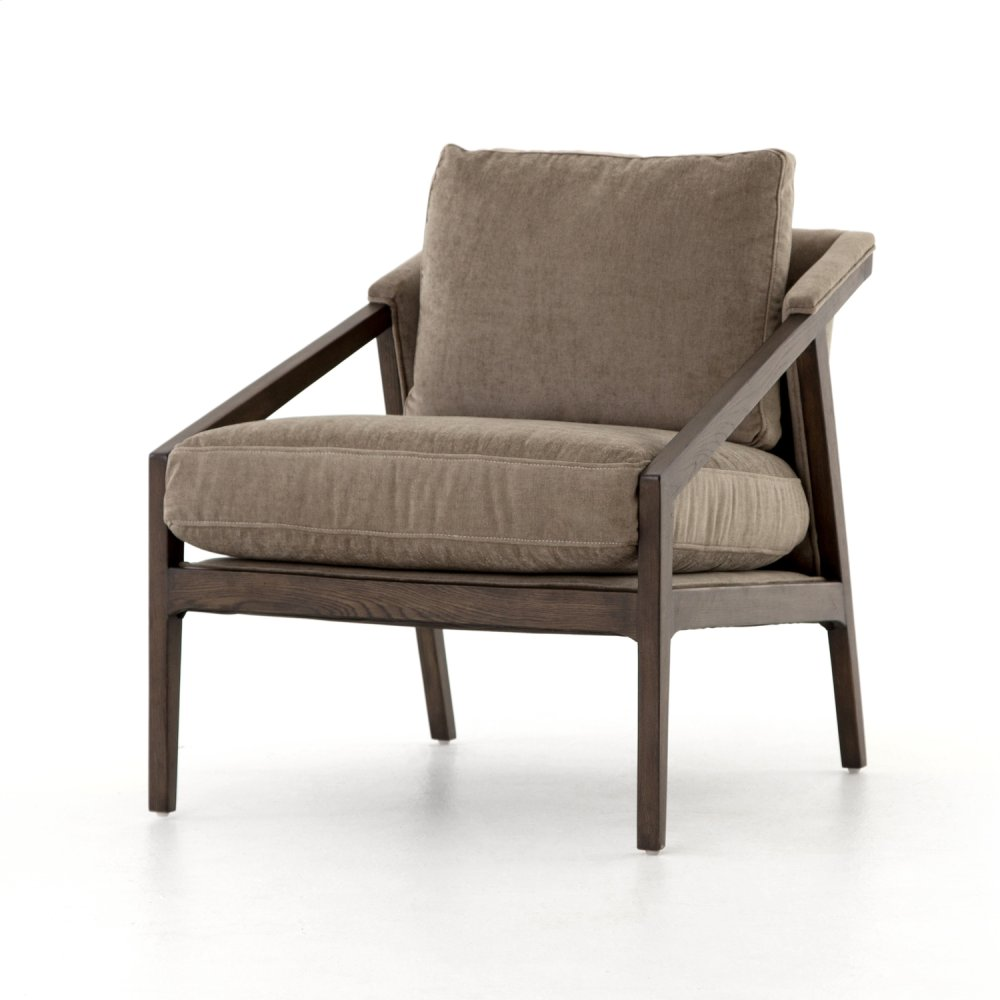Earl Occasional Chair-sage Worn Velvet