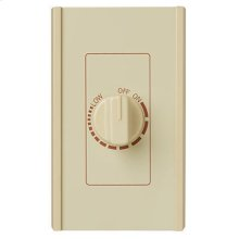 Electronic Variable Speed Control, Ivory, 6 amps., 240V