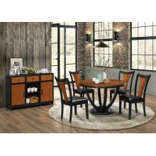 Boyer Transitional Two-tone Dining Server