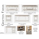 Grafton Farms 1 Drawer Desk Product Image