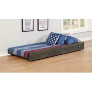 Wrangle Hill Gun Smoke Trundle With Bunkie Mattress Product Image