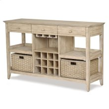 Tortuga II Sideboard with Wine Rack