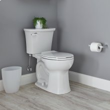 Edgemere Right Height Round Front Toilet  1.28 GPF  American Standard - White
