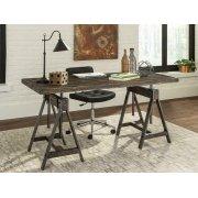Deponte Weathered Gunmetal Adjustable Writing Desk Product Image