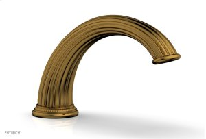 GEORGIAN & BARCELONA Deck Tub Spout K5141 - French Brass Product Image
