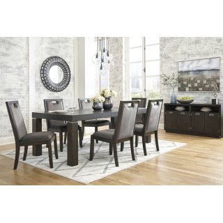 Hyndell 7 Piece Dining Room EXT Table Set