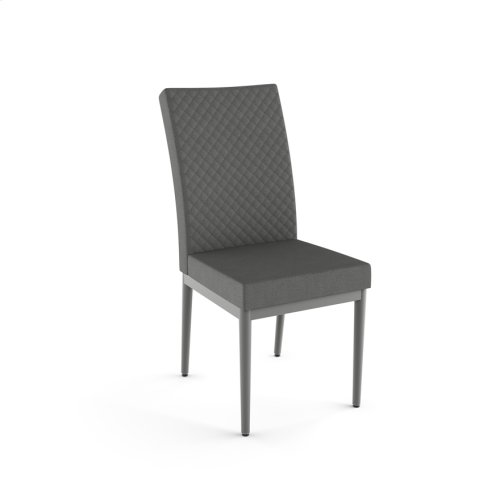 Marlon Chair With Quilted Fabric
