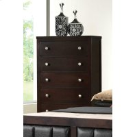 Carlton Cappuccino Five-drawer Chest Product Image