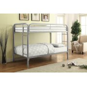 Morgan Twin-over-twin Silver Bunk Bed Product Image
