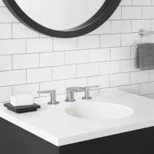 Studio S Widespread Low Spout Faucet with Lever Handles  American Standard - Polished Chrome