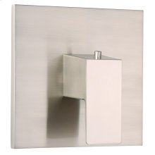 """Brushed Nickel Mid-Town® Single Handle 3/4"""" Thermostatic Valve Trim Kit"""