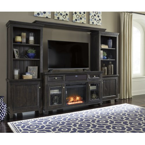 Townser - Grayish Brown 5 Piece Entertainment Set