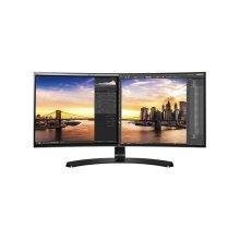 34'' Class 21:9 UltraWide® QHD IPS Curved LED Monitor (34'' Diagonal)