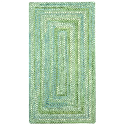 Sailor Boy Sea Monster Green Braided Rugs (Custom)