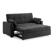 Nantucket Sofa Sleeper in Charcoal