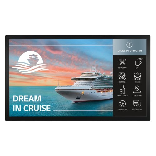 Built-in Touch Display