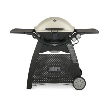 [CLEARANCE] Q™ 3200™ LP Gas Grill - Titanium. Clearance stock is sold on a first-come, first-served basis. Please call (717)299-5641 for product condition and availability.
