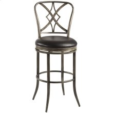 Jacqueline Commercial Grade Swivel Counter Height Stool