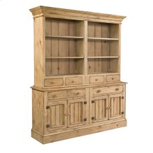 Homecoming Pine Open Hutch W/ Buffet