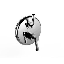 """7097kr-tm - 1/2"""" Thermostatic Trim With Volume Control and 2-way Diverter in Polished Chrome"""