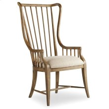Dining Room Sanctuary Tall Spindle Arm Chair