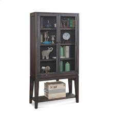 Wire Mesh Display Cabinet