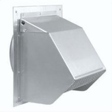 "Wall Cap for 7"" Round Duct for Range Hoods and Bath Ventilation Fans"