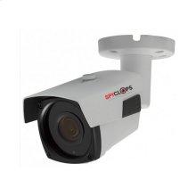 Manual Varifocal Bullet Camera POE IP 5MP - White