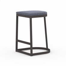 Counter Stool Size Faye Navy Cover Val Outdoor Bar + Counter Stool, Washed Brown