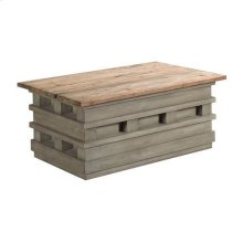 Junction Pallet Lift-Top Cocktail Table