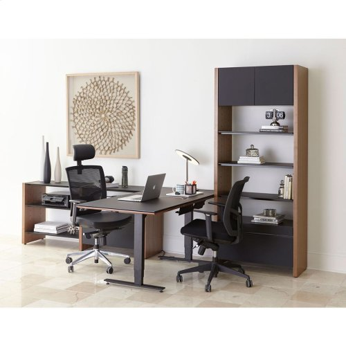 5464 Ld in Chocolate Stained Walnut Black