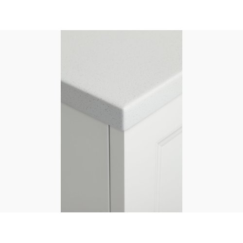 """White Expressions 49"""" Vanity Top Without Cutout"""