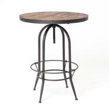 Bristol Pub Table-rustic Black