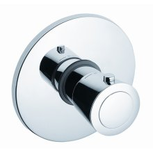 Thermostat Trim Set in Polished Chrome