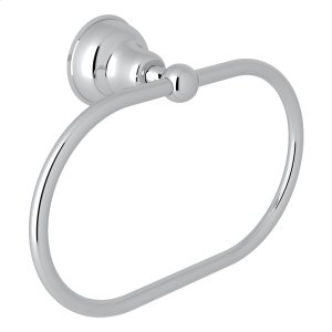 Polished Chrome Arcana Towel Ring Product Image