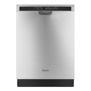 Stainless steel dishwasher with 1-Hour Wash cycle Product Image