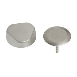 TurnControl Bath Waste and Overflow A dazzling turn Brass - ForeverShine PVD brushed nickel Material - Finish Product Image