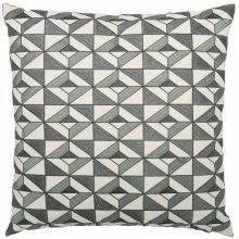 """Luxe Pillows Tile Embroidered Diamonds (23"""" x 23"""")"""