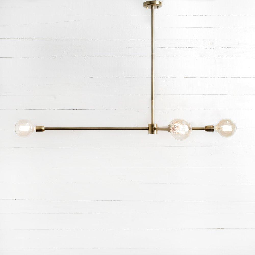 Robinson Chandelier-antique Brass