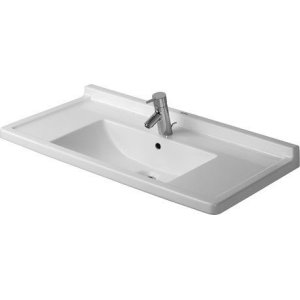 Starck 3 Furniture Washbasin 1 Faucet Hole Punched