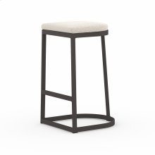 Bar Stool Size Faye Sand Cover Val Outdoor Bar + Counter Stool, Washed Brown