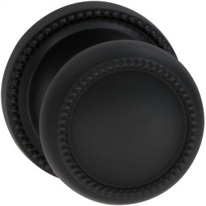 Interior Traditional Beaded Knob Latchset in (US10B Oil-rubbed Bronze, Lacquered) Product Image