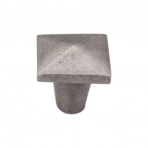 Aspen Square Knob 1 1/4 Inch - Silicon Bronze Light Product Image