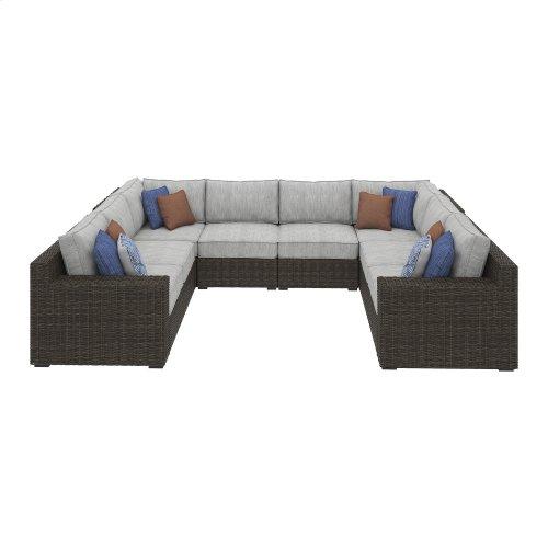 Alta Grande - Beige/Brown 3 Piece Patio Set
