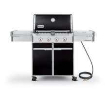 SUMMIT® E-420™ NATURAL GAS GRILL - BLACK