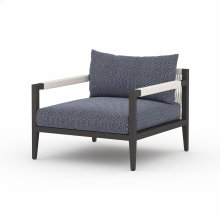 Faye Navy Cover Sherwood Outdoor Chair, Bronze
